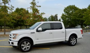 2016 Ford F-150 Lariat Ultimate 4×4 Ecoboost full