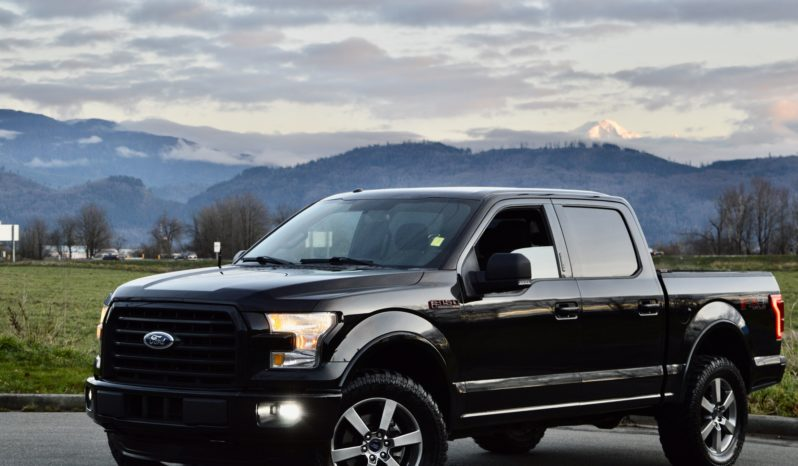 2015 Ford F-150 Crew Cab 3.5L Ecoboost Lifted Loaded FX4 full